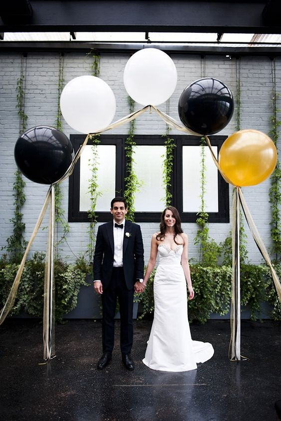 Balloon arch ceremony ideas
