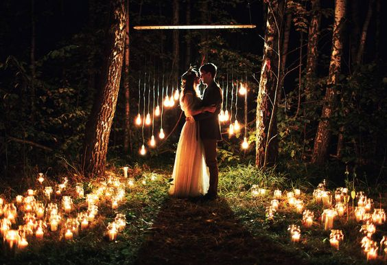 Night wedding ceremony ideas